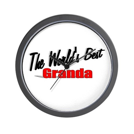 """The World's Best Granda"" Wall Clock"