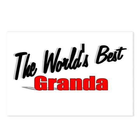 """The World's Best Granda"" Postcards (Package of 8)"