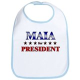 MAIA for president Bib