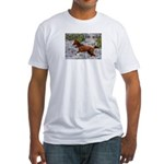Call Of The Wild Fitted T-Shirt