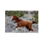 Call Of The Wild Rectangle Magnet (10 pack)