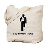 Broken Leg, Arm My Own Stunts Tote Bag