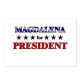 MAGDALENA for president Postcards (Package of 8)