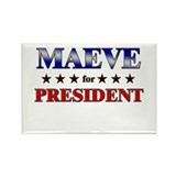 MAEVE for president Rectangle Magnet (10 pack)