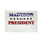 MADYSON for president Rectangle Magnet (10 pack)