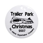 This Season's Colors Trailer Park Ornament (Round)