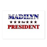 MADILYN for president Postcards (Package of 8)