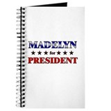 MADELYN for president Journal