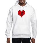 I heart Wakeboarding Hooded Sweatshirt