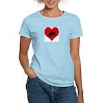 I heart Piano Women's Light T-Shirt
