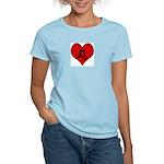 I heart Mountain Biking Women's Light T-Shirt