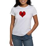 I heart Mountain Biking Women's T-Shirt