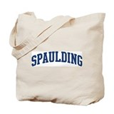 SPAULDING design (blue) Tote Bag