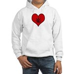 I heart Marijuana Hooded Sweatshirt