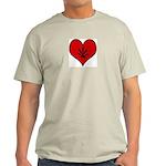 I heart Marijuana Light T-Shirt