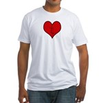 I heart Kites Fitted T-Shirt
