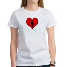 I heart Firefighter Tee