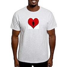 I heart Firefighter T-Shirt