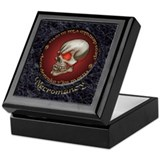 Necromancy Marble Inlay Keepsake Box