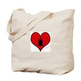 I heart Cruising Tote Bag