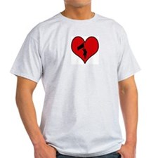 I heart Color Guard T-Shirt