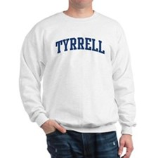 TYRRELL design (blue) Sweatshirt