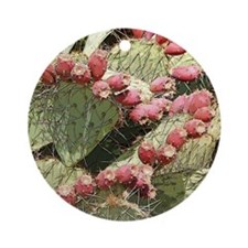 Prickly Pear Cactus Buds Ornament