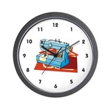 Seamstress Wall Clock