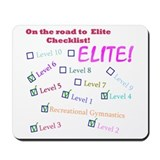 Gymnatics Level 6 Rd To Elite Mousepad