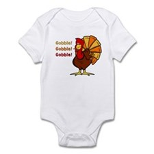 Gobble Turkey Infant Bodysuit