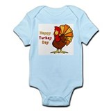 Happy Turkey Day Infant Bodysuit