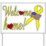 Welcome home! Yard Sign