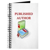 author t-shirts gifts Journal