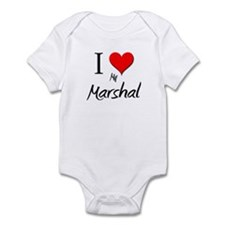 I Love My Marshal Infant Bodysuit
