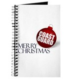 Merry Coast Guard Christmas Journal