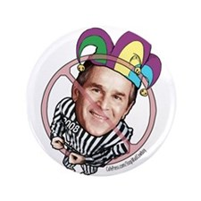 "Anti-Bush Fool 3.5"" Button"