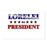 LORELEI for president Postcards (Package of 8)