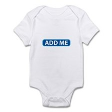 ADD ME Infant Bodysuit