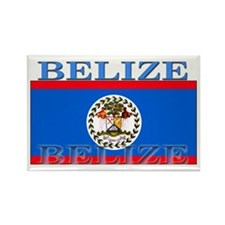 Belize Belizean Flag Rectangle Magnet