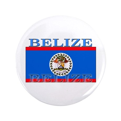 "Belize Belizean Flag 3.5"" Button"