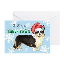 Holiday Corgi Greeting Card