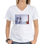 WTD, Holiday '07 Women's V-Neck T-Shirt