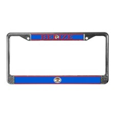 Belize Blank Flag License Plate Frame
