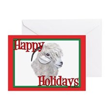 Angora Goat Holiday Greeting Cards (Pk of 10)