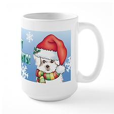 Holiday Maltese Mug