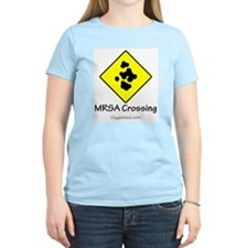 MRSA Crossing Sign 01 T-Shirt
