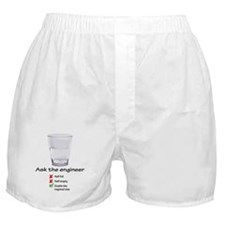 Ask The Engineer Boxer Shorts