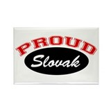 Proud Slovak Rectangle Magnet (10 pack)