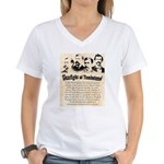 Gunfight at Tombstone Women's V-Neck T-Shirt