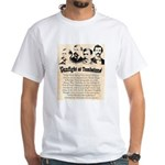 Gunfight at Tombstone White T-Shirt
